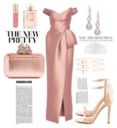 """""""♥"""" by ivanov1234491 ❤ liked on Polyvore featuring Liliana, Monique Lhuillier, Chanel, Smith & Cult, Jimmy Choo and Jemma Wynne"""