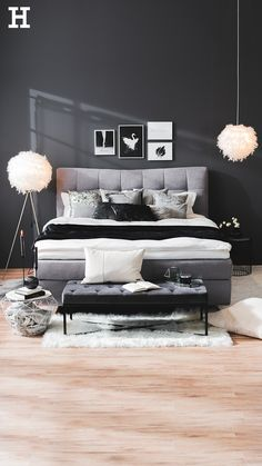 Shop the Look - Cosy Grey Wood Bedroom, Bedroom Inspo, Grey Furniture, Home Furniture, Small Hall, Living Spaces, Living Room, Grey Room, Home And Living