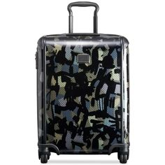 """Tumi TegraLite 22"""" Continental Carry On Expandable Hardside Suitcase,... (19,730 THB) ❤ liked on Polyvore featuring bags, luggage and camo"""