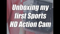 Unboxing my first Sports HD Action Cam- SBTVlogs