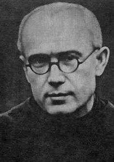 """""""No one in the world can change Truth. What we can do and should do is to seek truth and to serve it when we have found it.""""  ~ St. Maximillian Kolbe. We would love a little Max!"""