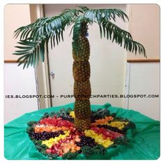 Disney's Lion King Baby Shower Party Pineapple palm tree