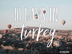 10 Days in Turkey