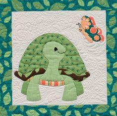 Turtle Tale quilt block