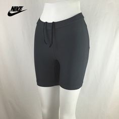 "Nike Dri-Fit Spandex Cycling Workout Shorts Awesome pair of Noke workout shorts. They have good stretch with two back mesh pockets and drawstrings on the waist. Mint condition. Waist 12.5"" across and 14.5"" to bottom   🎁 Save 20% Off Bundles! 🎁 🚫 Sorry, No Trades! 🚫 🎀 Thanks For Stopping By! 🎀 Nike Shorts"