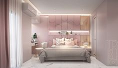 Petchburi Modern luxury (13) Luxury Kids Bedroom, Pink Bedroom Design, Teen Bedroom Designs, Stylish Bedroom, Home Room Design, Home Decor Bedroom, Woman Bedroom, Dream Rooms, Luxurious Bedrooms