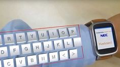 Augmented reality device turns your arm into a keyboard