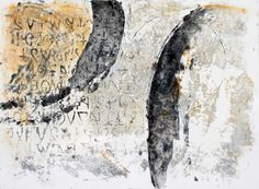 """New Work, 12"""" x 16"""" block  Collograph with monotype, 1/10  http://www.annesprints.com"""