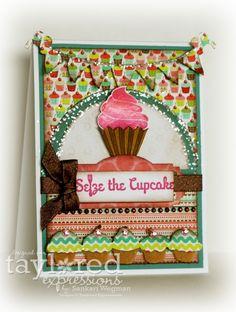 Seize the Cupcake by Sankari Wegman