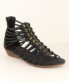 This Black Marie Sandal is perfect! #zulilyfinds