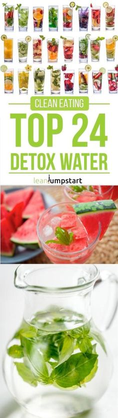 24 detox water recipes: fruit infused drinks for weight loss by aline