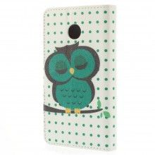 Forro Book Huawei Ascend Y330 Design Animales Buho 16 $ 20.300,00
