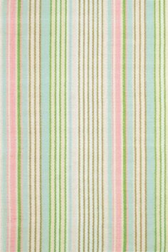 This lovely striped rug is a great fit for any young child's bedroom, nursery or playroom.   This cotton woven rug is durable enough for both children and pets!