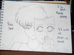 Sad Anime Girl drew by AmuXIkuto4ever19 on deviantART