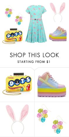 """Easter is coming and btw the shoes my favorite"" by harthur2021 ❤ liked on Polyvore featuring Alice + Olivia and INC International Concepts"