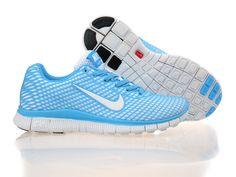 Nike Free Run 5 Women Sky Blue