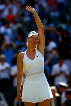 2015 Maria Sharapova - Nike Wimbledon tennis dress
