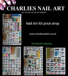 PRICE DROP  SAVE up to £10 on our nail art kits order yours at www.charliesnailart.co.uk  #nailart #nails #nailshop #naildesign #nailtrend #nailkit #nailideas #giftideas