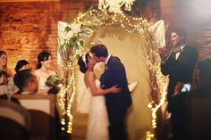 Eclectic, Science-Inspired Carondelet House Wedding // Cindy + Chris