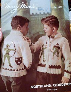 Robin Hood cowichan sweater