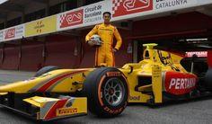 Pembalap Indonesia Sean Galael Melakukan Tes F1 | Depo Olahraga