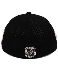 adidas Los Angeles Kings Hockey Fights Cancer Stretch Cap - Black L/XL