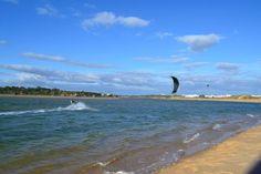 Kitesurfing in Alvor!