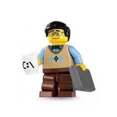 Lego Series 7 Minifigure Computer Programmer