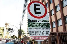 Multas de trânsito - Novas vagas de estacionamento rotativo - EstaR - são implantadas no Batel e no Água Verde +http://brml.co/1LkDzj0