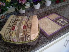 cestinha para pães e jogo americano