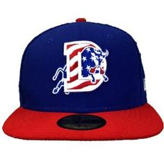 2012 Durham Bulls New Era Stars and Stripes Caps are here! Proceeds benefit Welcome Back Veterans