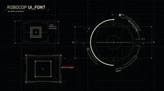 ROBOCOP - HUD Design - www.johnkoltai.com