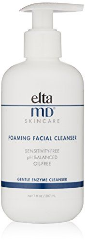 EltaMD Foaming Facial Cleanser, 7.0 oz - ELTRA MD Foaming Facial Cleanser is an oil-free, pH-balanced formula to gently cleanse without irritating or drying your skin. The deep-pore face wash contains bromelain and apple amino acids to remove makeup, excess oil and impurities. As a result, your skin is left smooth and soft, with your sk...