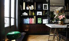 Salon Appartement Paris David Chaplain et Alexandre Roussard