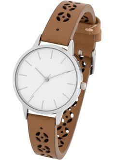 8df34ea779d92 Schicke Uhr mit auffälligen Lasercuts im Armband