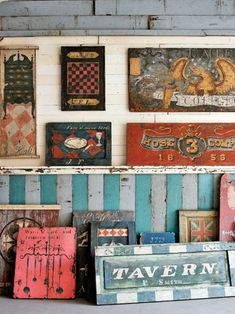 Signs by Brian Laurich.