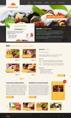 JM-Italian-Restaurant, yellow template version.