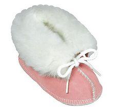 Minnetonka Infant's Genuine Sheepskin Booties