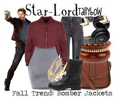 """Star-Lord"" by tallybow ❤ liked on Polyvore featuring Mode, H&M, WearAll, Venyx und Leslie Danzis"