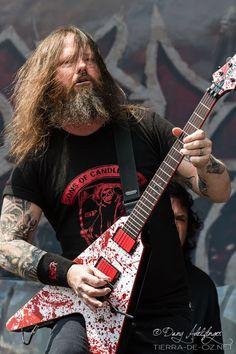 Gary Holt of Slayer/Exodus . Heavy Metal Music, Heavy Metal Bands, Heavy Metal Style, Heavy Metal Fashion, Bruce Dickinson, Power Metal, Death Metal, Rob Zombie, Black Metal