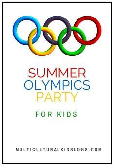 kids olympics party ideas