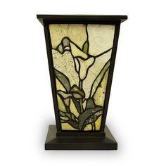 Jadestone Cremation Urn - Lily | OneWorld Memorials