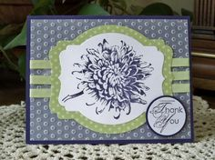 F4A212 - Staple It Thank You by MelodyGal - Cards and Paper Crafts at Splitcoaststampers