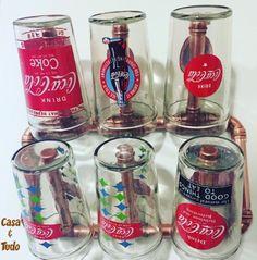 Suporte de parede para 6 copos, todo de cobre: casaetd@gmail.com IG: @casaetudo