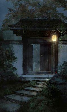 Xu Feng × Sun Tuo by ibuki satsuki Fantasy World, Fantasy Art, Art Chinois, Plakat Design, Art Asiatique, China Art, Wow Art, Environment Concept Art, Jolie Photo