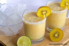 Zespri SunGold Kiwifruit Margarita | Koko's Kitchen