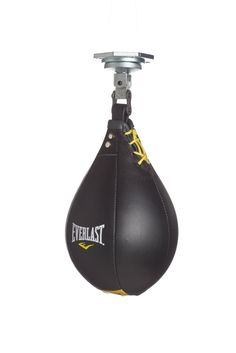 Amazon.com : Everlast Leather Speed Bag (Large) : Speed Punching Bags : Sports & Outdoors