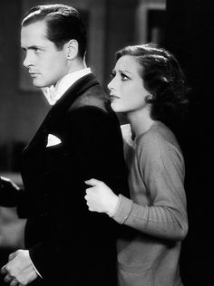 Robert Montgomery and Joan Crawford in Untamed (Jack Conway, 1929)