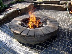 9 Dynamic Clever Tips: Fire Pit Wall Projects outdoor fire pit seating. Fire Pit Pergola, Fire Pit Bench, Gazebo With Fire Pit, Fire Pit Wall, Fire Pit Decor, Fire Pit Chairs, Fire Pit Seating, Fire Pit Backyard, Pergola Patio
