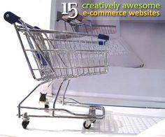 15 creatively awesome eCommerce websites ~ Webdesignerpad